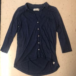 Abercrombie & Fitch Tops - Abercrombie 3/4 Sleeve Button-Up